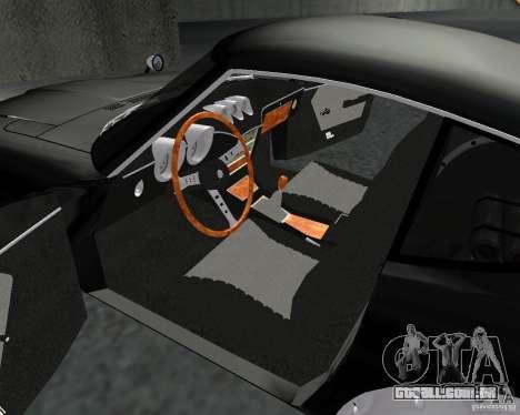 Nissan  Fairlady 240ZG para GTA San Andreas vista interior