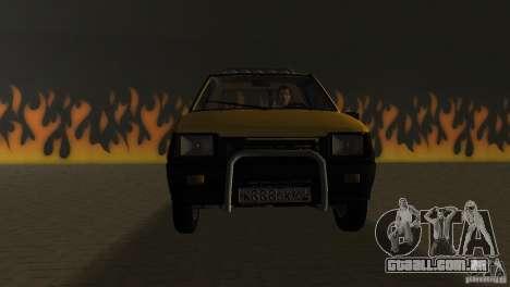 Seaz Pickup para GTA Vice City vista traseira