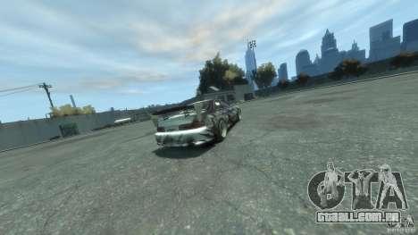 Toyota Soarer Tokage Crew para GTA 4 traseira esquerda vista