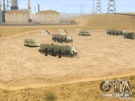 HQ Country Desert v1.3 para GTA San Andreas quinto tela