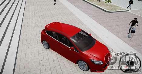 Ford Focus ST 2012 para GTA 4 vista interior