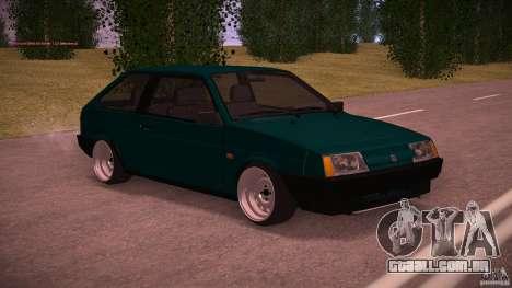 VAZ 2108 baixo clássico para GTA San Andreas esquerda vista