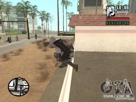 A capacidade do Assassins Creed para GTA San Andreas terceira tela