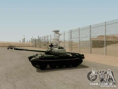 Type 59 para GTA San Andreas esquerda vista