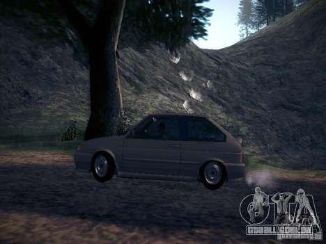Dreno Vaz 2113 para GTA San Andreas esquerda vista
