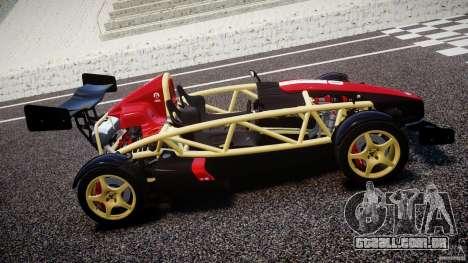 Ariel Atom 3 V8 2012 Custom Mugen para GTA 4 esquerda vista