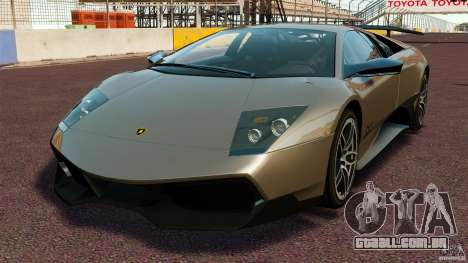Lamborghini Murcielago LP670-4 SV [EPM] para GTA 4