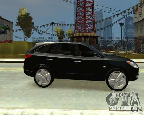 Hyundai IX55 para GTA 4 vista direita