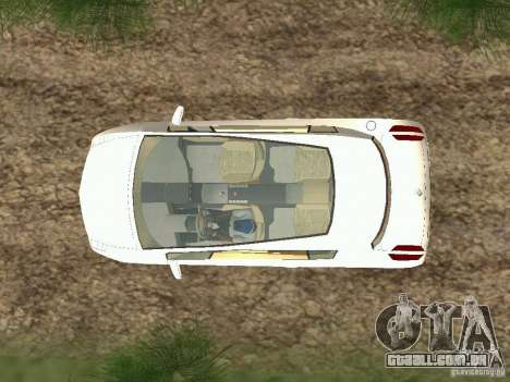 Renault Vel Satis para GTA San Andreas vista direita