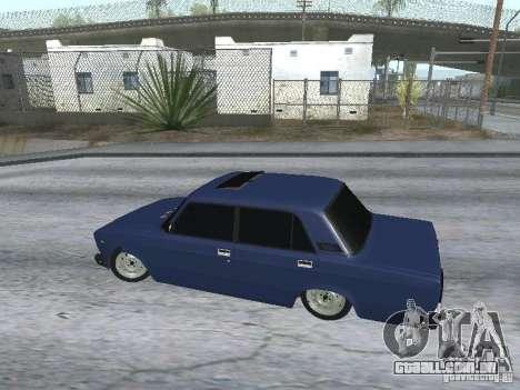 VAZ-2107 v2 para GTA San Andreas vista direita