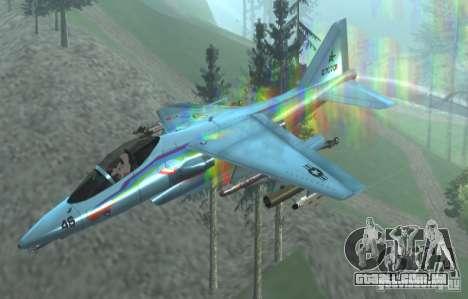 RainbowDash Hydra para GTA San Andreas vista direita