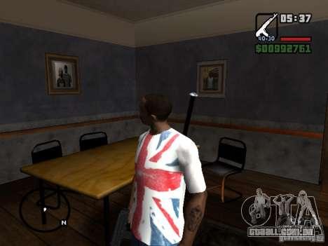 O jogador parece onde quer que você veja para GTA San Andreas segunda tela