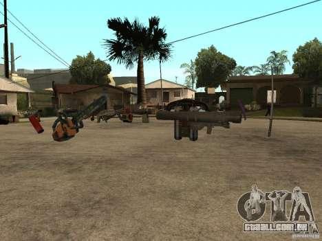 Armas para GTA San Andreas