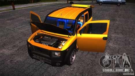 Honda Element LX para GTA San Andreas vista superior