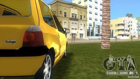 Renault Twingo para GTA Vice City vista direita