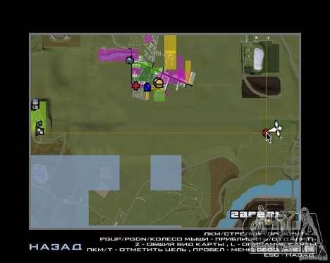Base Gareli para GTA San Andreas sétima tela