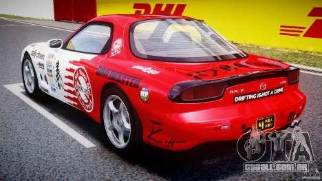 Mazda RX-7 1997 v1.0 [EPM] para GTA 4 vista lateral