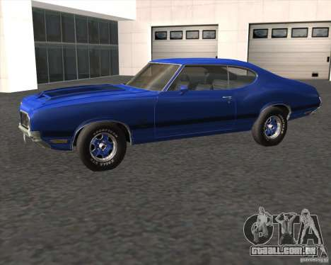 Oldsmobile 442 (fixed version) para GTA San Andreas esquerda vista