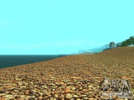 Praias de HQ v 2.0 para GTA San Andreas quinto tela