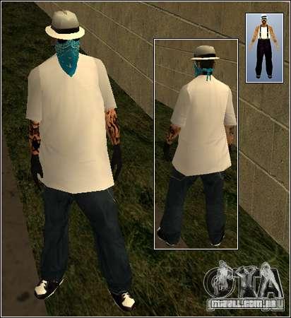 Pele Pack Getto para GTA San Andreas oitavo tela