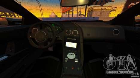 Lamborghini Murcielago LP670-4 SV [EPM] para GTA 4 vista de volta