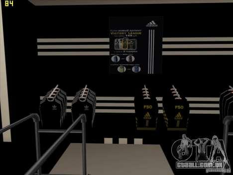 Substituição completa da loja Binco Adidas para GTA San Andreas sétima tela