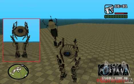 Robô de Portal 2 # 1 para GTA San Andreas