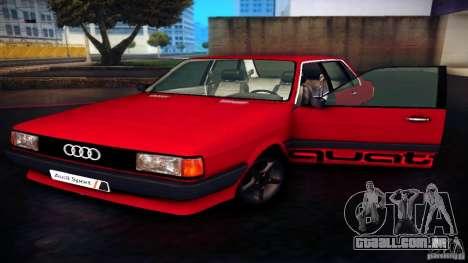 Audi 80 B2 para GTA San Andreas vista direita