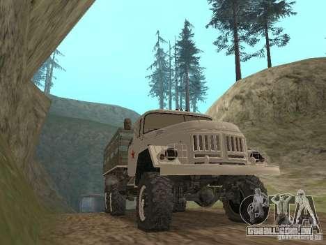ZIL 131 Main para GTA San Andreas esquerda vista