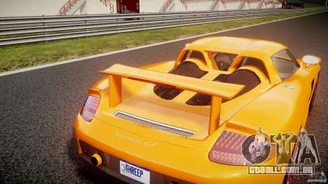 Porsche Carrera GT [EPM] para GTA 4 vista superior