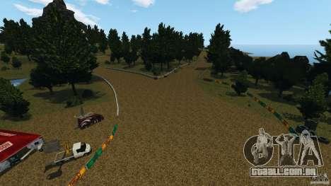 DiRTY - LandRush para GTA 4 por diante tela