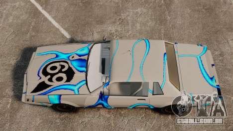 Rusty Sabre de libré, 69 para GTA 4 vista de volta