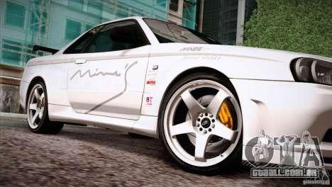 FM3 Wheels Pack para GTA San Andreas por diante tela
