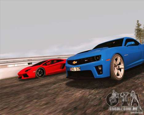 NFS The Run ENBSeries by Sankalol para GTA San Andreas quinto tela