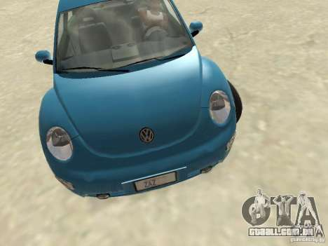 VW Beetle 2004 para GTA San Andreas esquerda vista