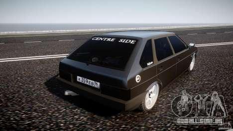 Lada VAZ 2109 para GTA 4 traseira esquerda vista