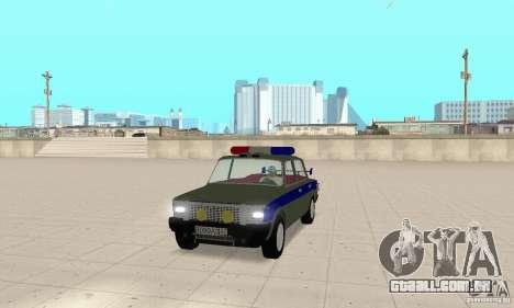 Polícia de 2101 VAZ para GTA San Andreas