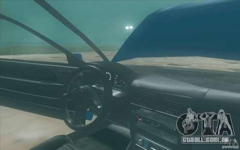 Suzuki Swift GLX 1.3 para GTA San Andreas vista traseira