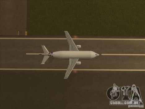 Airbus A300-600ST Beluga para GTA San Andreas vista direita