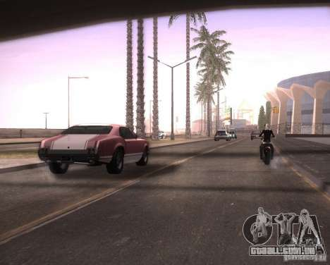 ENBSeries para Ultra Pack Vegetetions para GTA San Andreas quinto tela