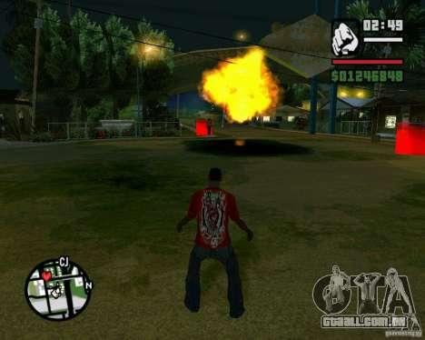 Wrecking ball para GTA San Andreas por diante tela