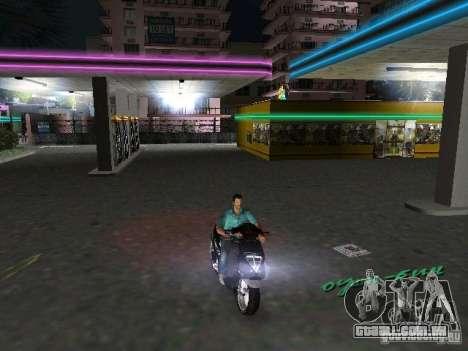 PIAGGIO NRG MC3 para GTA Vice City