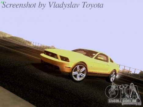 Ford Mustang GT 2011 para GTA San Andreas