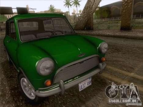 Austin Cooper S 1965 para GTA San Andreas vista direita