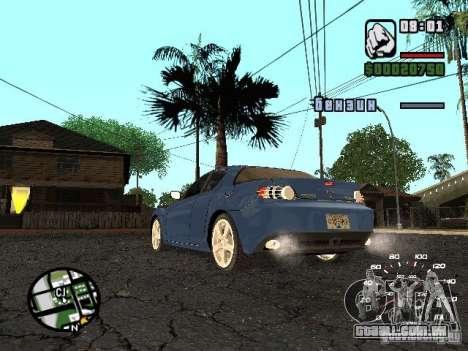 Mazda RX 8 para GTA San Andreas esquerda vista