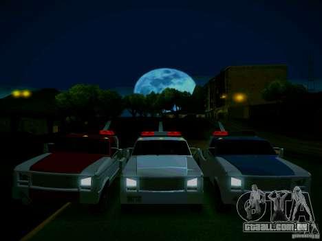 Towtruck tuned para GTA San Andreas vista traseira