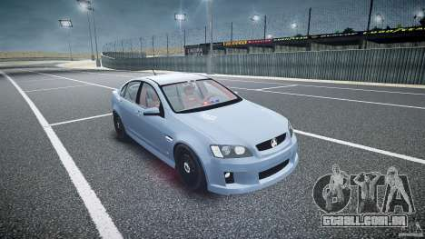 Holden Commodore (FBINOoSE) para GTA 4 vista de volta