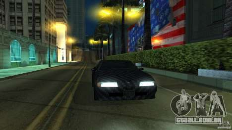 Elegy Carbon Style V 1.00 para GTA San Andreas esquerda vista