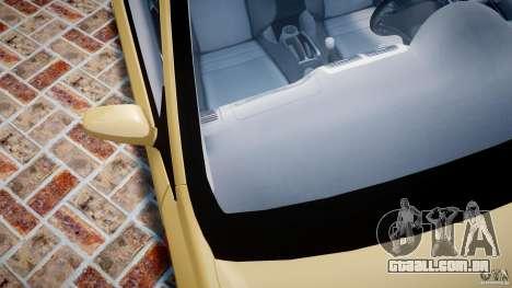 Honda Civic Type R 2005 para GTA 4 vista inferior