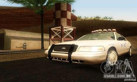 Ford Crown Victoria Rhode Island Police para GTA San Andreas